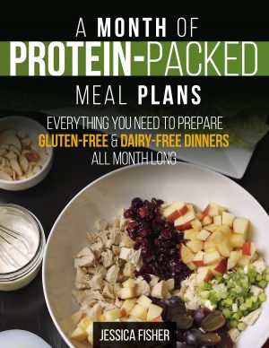 cover image of protein-packed meal plan