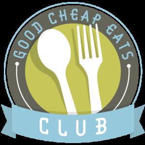logo for the good cheap eats club