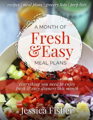 cover image of A Month of Fresh & Easy Meal Plans