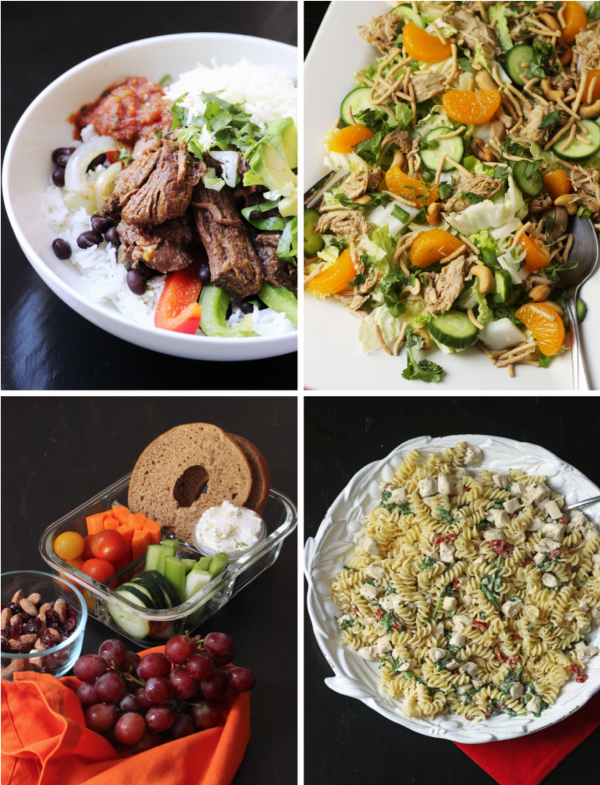 collage of week 1 meals