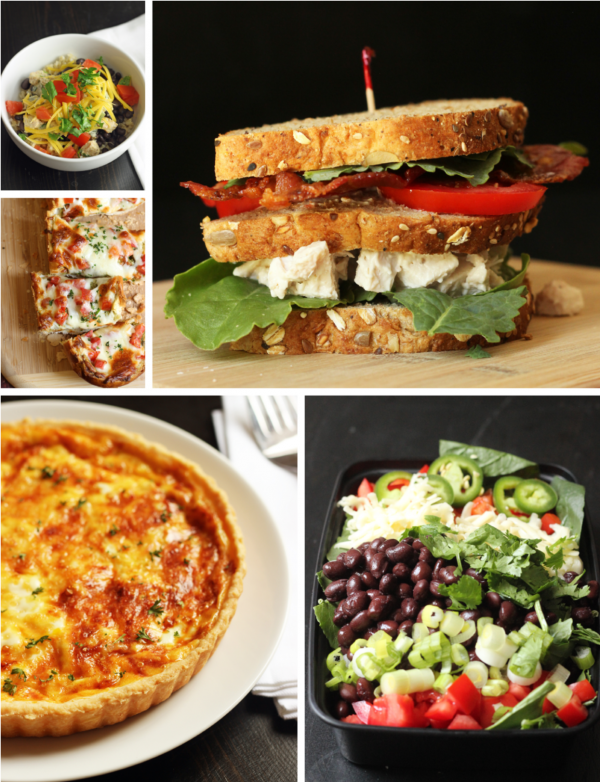 collage of week 2 meals